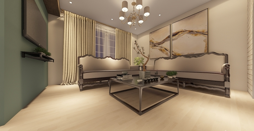 2 Interior Design Render