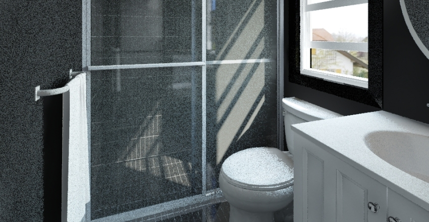 Josh's Bathroom Interior Design Render