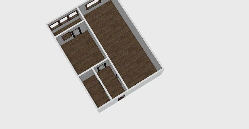 1-комн_0291 Interior Design Render