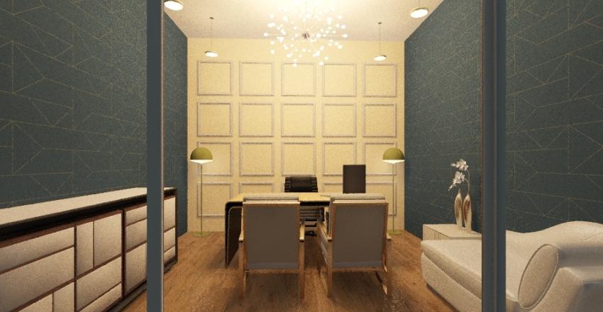 office 11 Interior Design Render