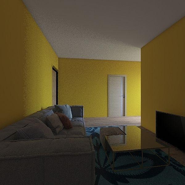 casa do sitio 1 Interior Design Render