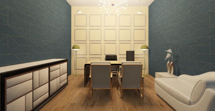 office 10 Interior Design Render