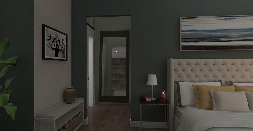 dormitorio matrimonial Matute Interior Design Render