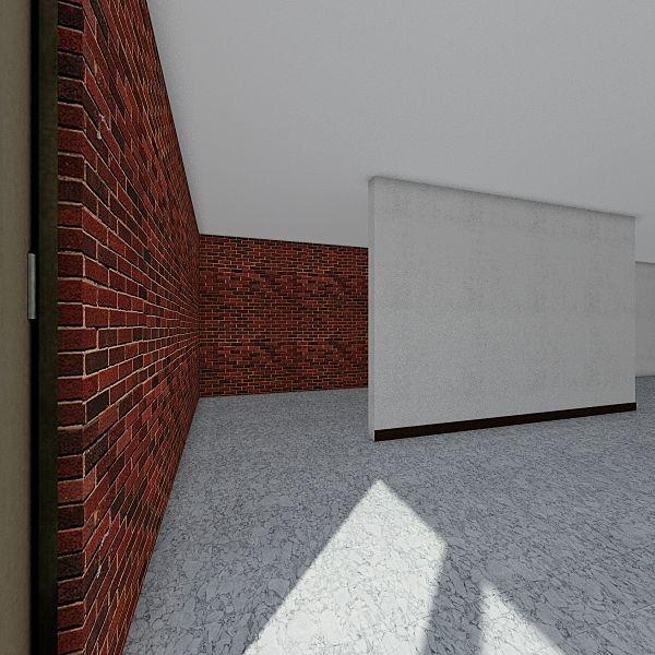 museum Interior Design Render