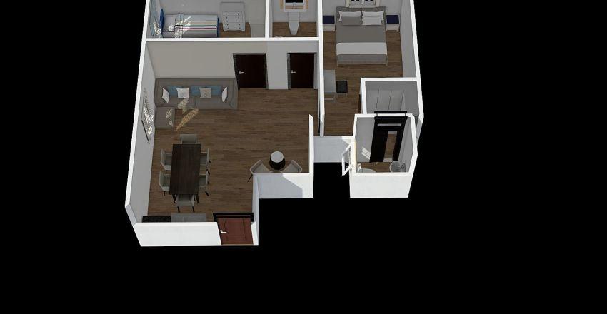88 back Interior Design Render