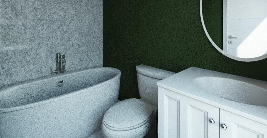 Ellie's Bathroom Interior Design Render