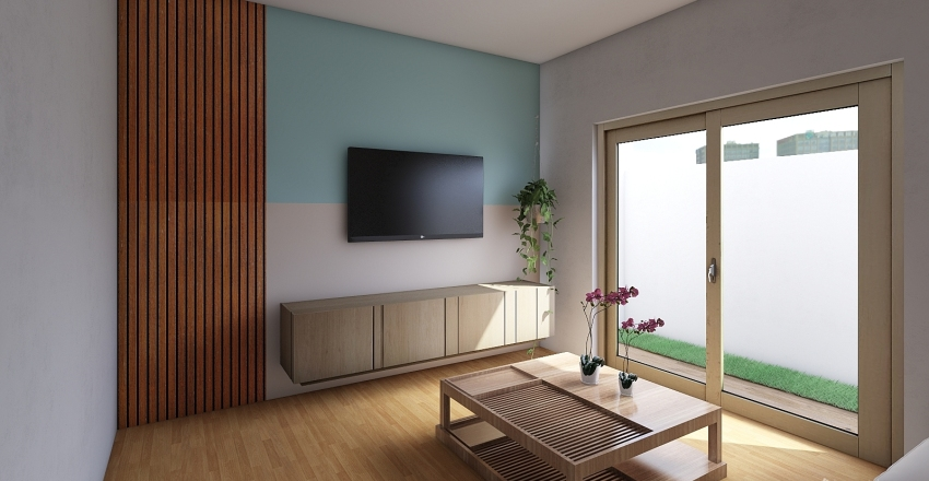 sala coabe Interior Design Render