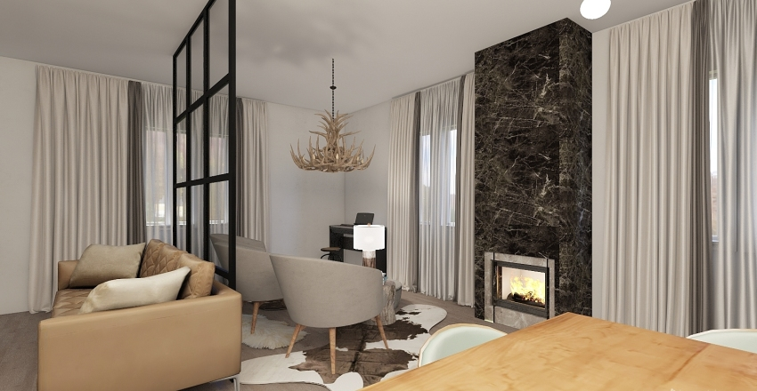 EkaterinaGostinaya Interior Design Render