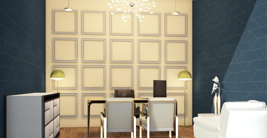 office 9 Interior Design Render