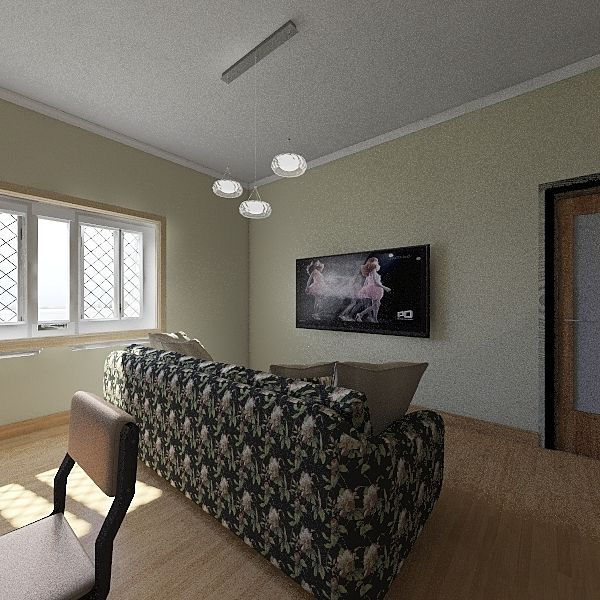 2 PERSON HOUSE Interior Design Render