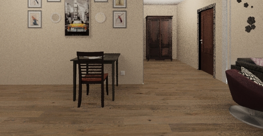 Jazz's Apartment Interior Design Render