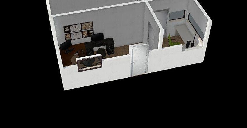 Kontejner Interior Design Render