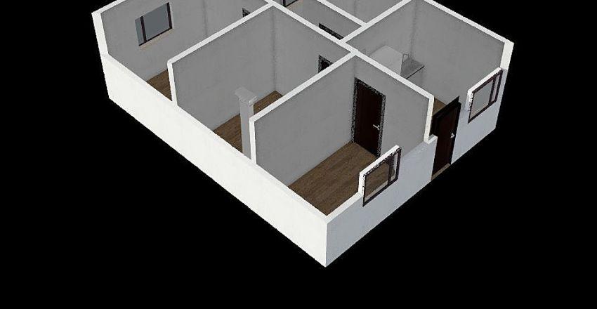 Bogarin apt Interior Design Render