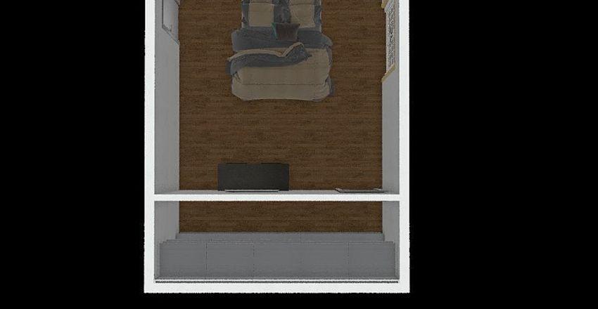 Camera cabina Interior Design Render