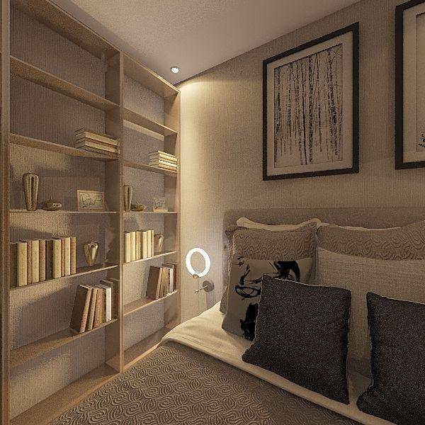 Master Bedroom V - Yakir Interior Design Render