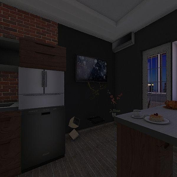 SkolkovoHomeStudy3A-New_v3_NObar Interior Design Render