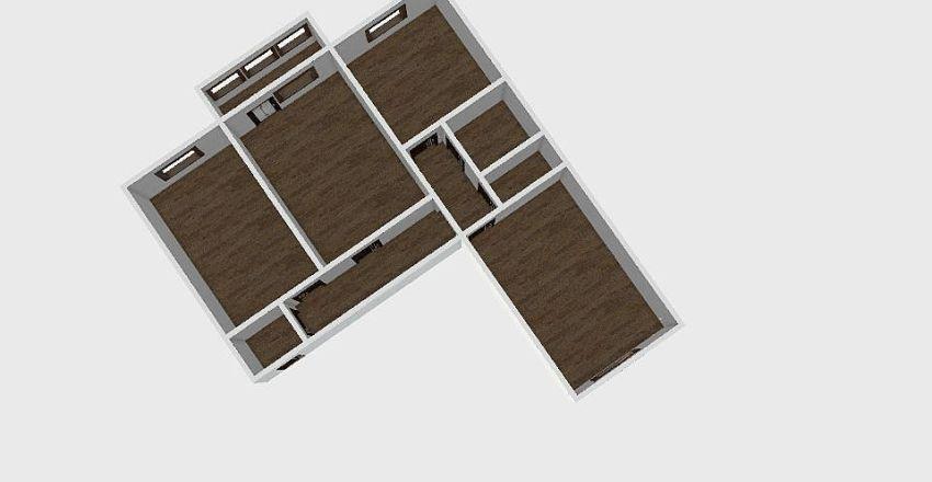 3-комн_0199 Interior Design Render