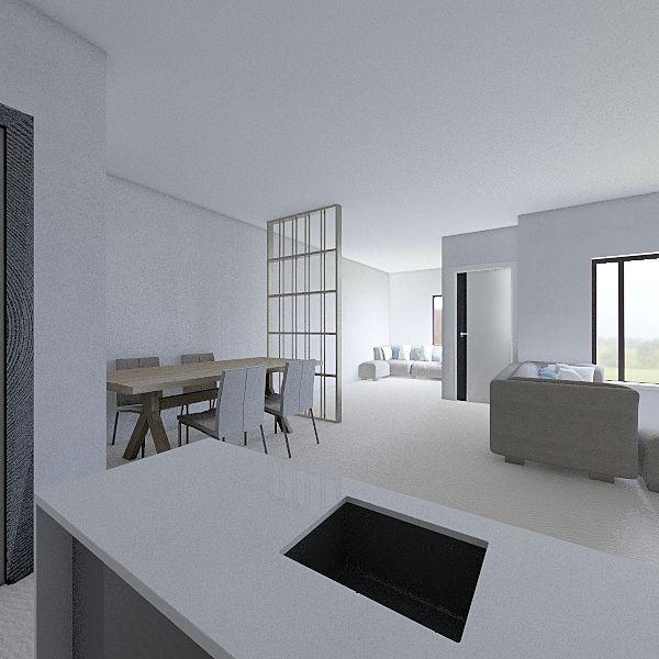 rumah meruyung Interior Design Render