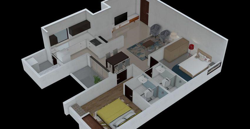TYPE 2C  Interior Design Render