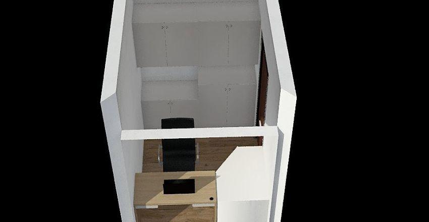 secretarias Interior Design Render