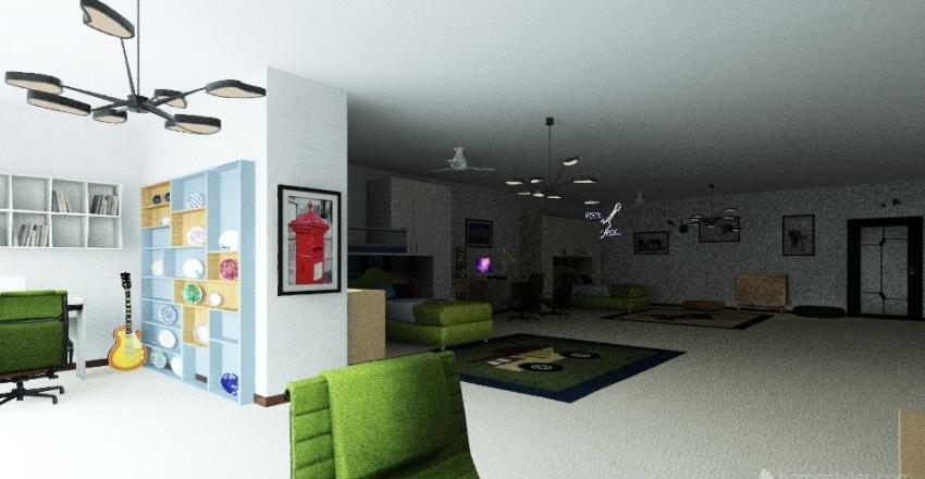 План квартиры 6 Interior Design Render