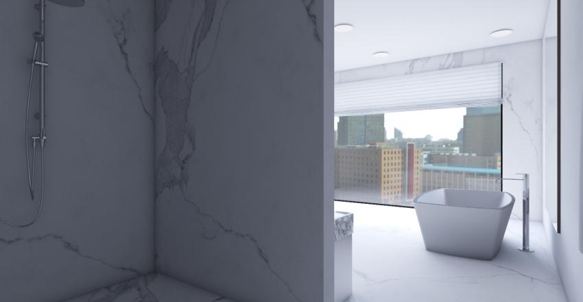 Luxury Condo Interior Design Render