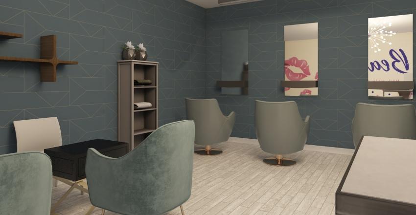 Beauty Center Interior Design Render