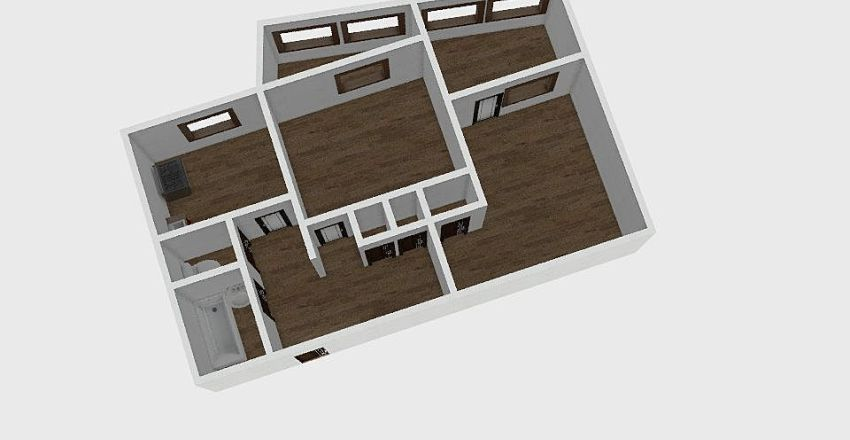 2-комн_0291 Interior Design Render