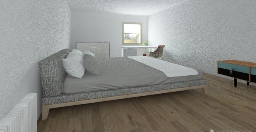 Bedroom Challenge Interior Design Render