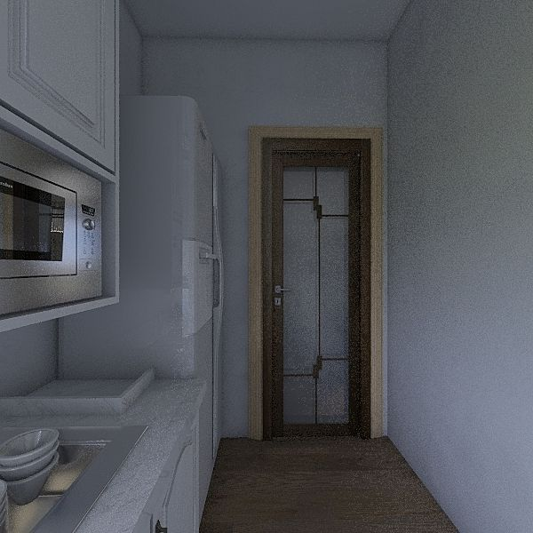 Chianti Hemex Flat E Interior Design Render