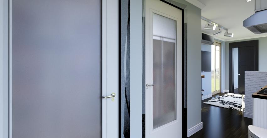 40' container II Interior Design Render