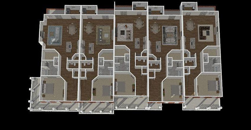 Sumter TH 1st Floor Interior Design Render