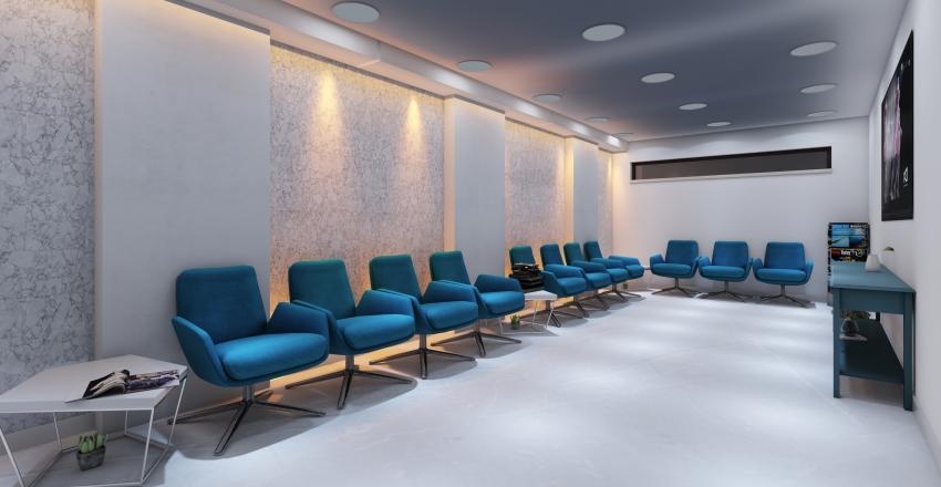 recepcion Interior Design Render