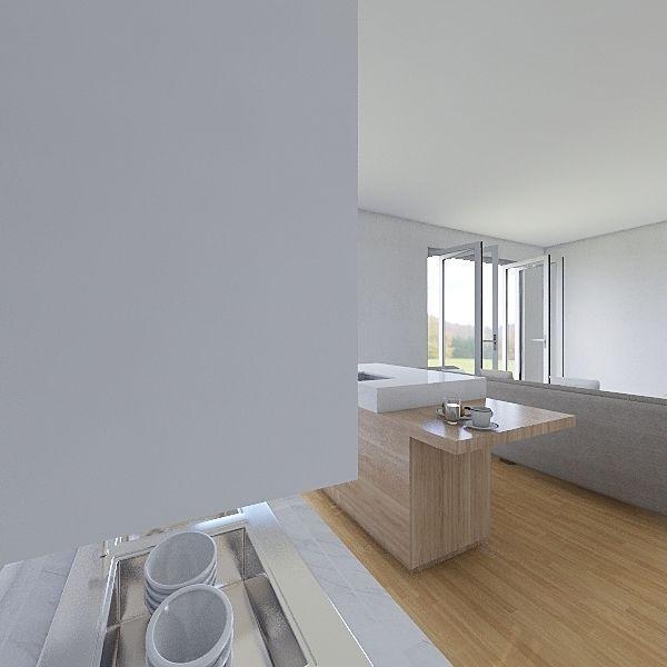 chatka puchatka Interior Design Render