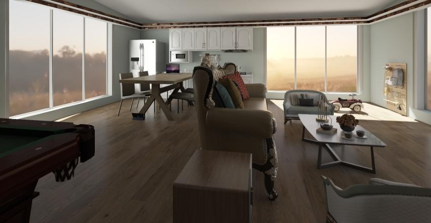 ALC 주택설계(40평) Interior Design Render