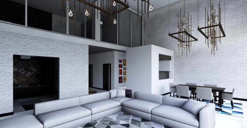 penhause Interior Design Render