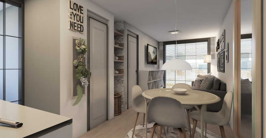 APARTA ESTUDIO Interior Design Render