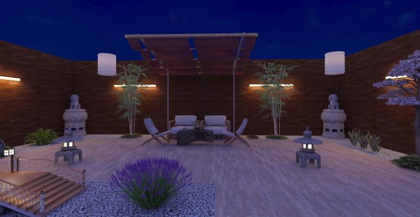 Terrace 2 - Yakir Interior Design Render