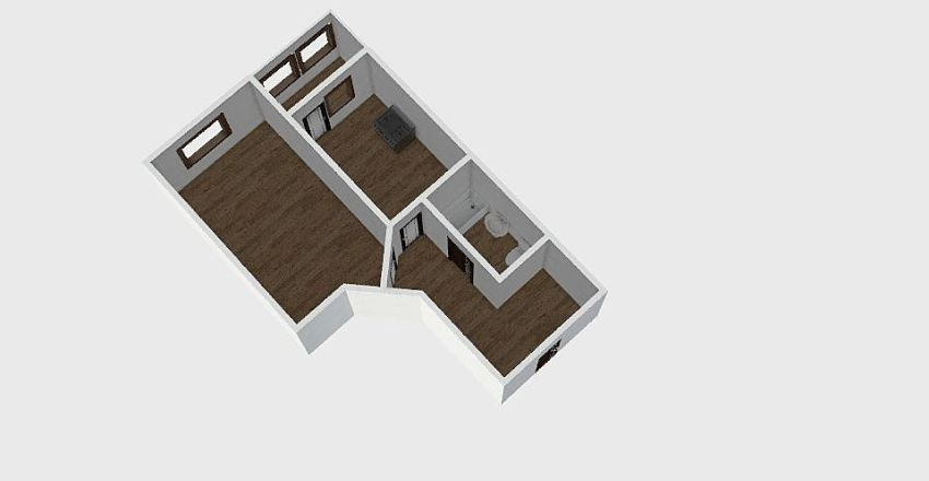 1-комн_0297 Interior Design Render