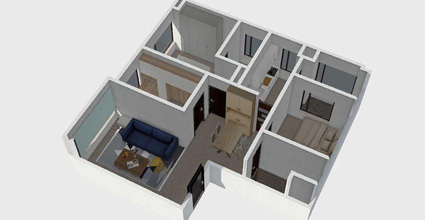 B5-15-WUI Interior Design Render