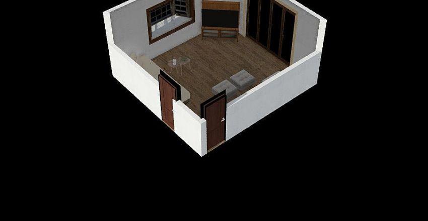 Kajaria's_Family_Lounge Interior Design Render