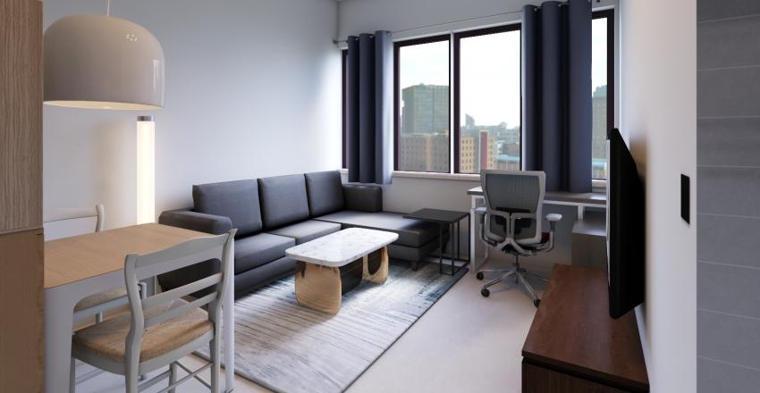 美河市松鼠窩-EKET_1 Interior Design Render