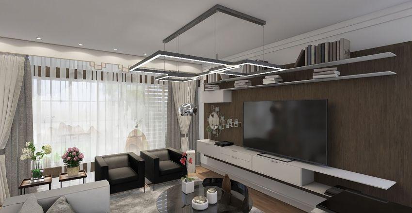 Diego Novo Sem Telhado Interior Design Render