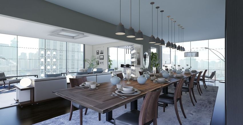 Let the sunshine in! Interior Design Render