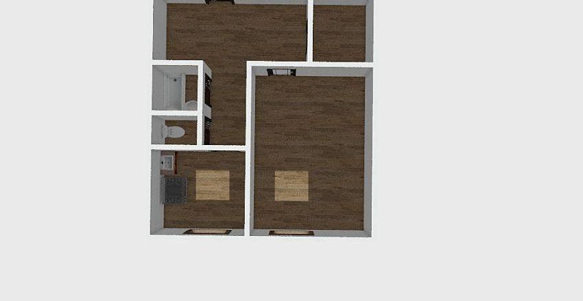 1-комн_0299 Interior Design Render