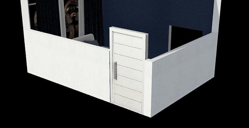 háloszoba Interior Design Render