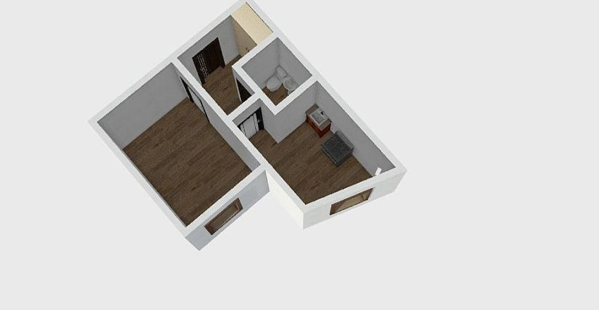 1-комн_0298 Interior Design Render