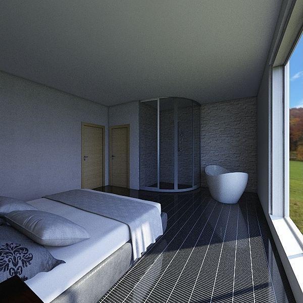120m2 2 korrust Interior Design Render