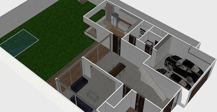 PACIFICA D4 Interior Design Render