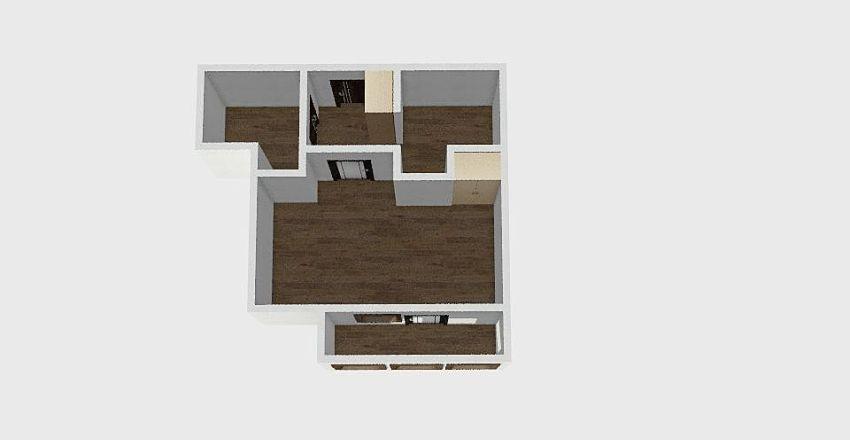 1-комн_0296 Interior Design Render